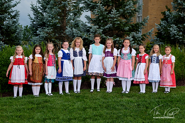 2017 Bucyrus Bratwurst Festival Jr Princess Contestants