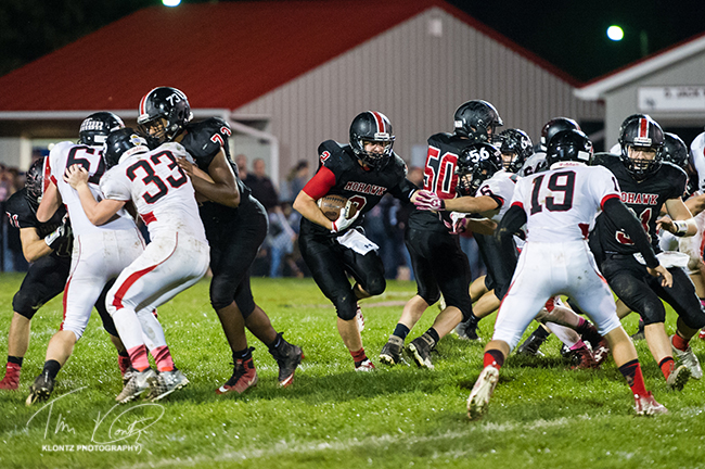 Varsity Football – Bucyrus at Mohawk